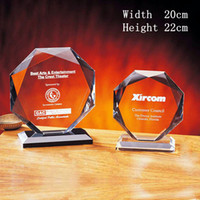 Crystal trophy award - Height cm Handmade Trophy Medal Trophies and Awards Trophies Recognition Award JB007E