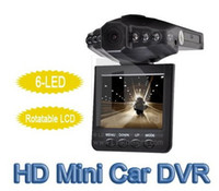 Wholesale LED Portable DVR IR Car Vehicle Dash Cam Camera Rotable Monitor