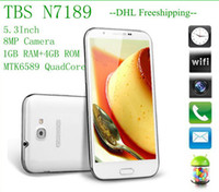 Wholesale New in stock N7100 Note2 N7189 Android MTK6589 Quad core GB GB GHz inch Screen Smart cell Phone