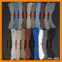Wholesale 2013 New Inner Strand colors Nylon Paracord Camping Equipment Paracord PRC