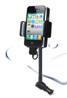 Wholesale Music Talk FM Transmitter for iPhone G GS iPod MP3 Player