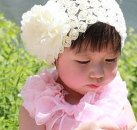 Wholesale 10 new style fashion children s large flowers roses lace ribbon baby hair ribbon lace princess broadside