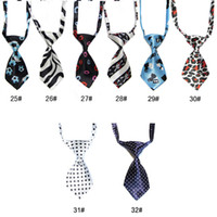 Wholesale Adjustable Dog Pet Child Shirt Sweetie Grooming Heart Black Tie Bows Necktie