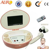 Anti-Wrinkle hair salon equipment - LCD luxury boxy skin and hair analyzer salon beauty equipment Au