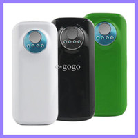 Wholesale 5600mAh Power Bank IP036 Portable Bank Battery Charger with light for smart mobile phone colors