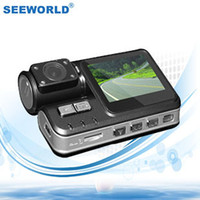 Wholesale X2 HD P Mini Dual Lens Vehicle Camera Car Black Box DVR with G Sensor Night Vision Remote Control