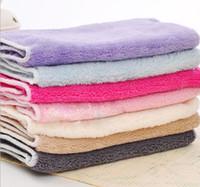 Wholesale 100pcs Multifunction wash towel Multicolor Rag Not shed fibers Rag Absorbent Rag