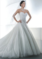 Stylish Sparkle 2013 Ball Gown Wedding Dresses Sweetheart Tu...