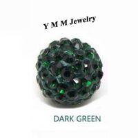 Wholesale 10mm High Quality Crystal Beads Shamballa Rhinestone Disco Ball For Jewelry Making
