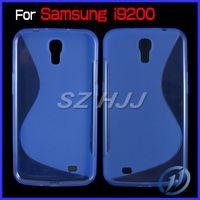 TPU For Samsung  S Wave Soft TPU Cover for Samsung Galaxy Mega 6.3 i9200 Streamline Protective Case