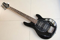 Wholesale String music stingRay Electric bass black music bass Active controls with v battery