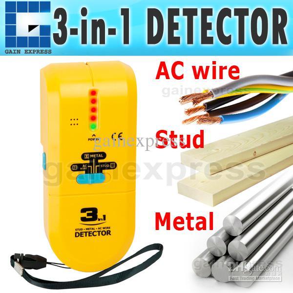 2017 e04 022 handheld 3 in 1 detector find metal wood wiring wall sensor Tramex Wet Wall Detector
