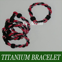 Wholesale Protect DNA from Damage Energy Balance Wrist Braided Rope Bracelet