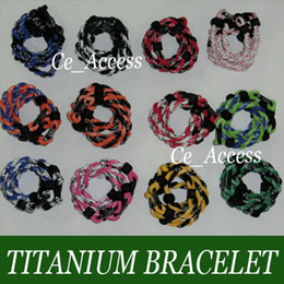 Wholesale Color Energy Silicone Bracelet for Boosting the Immune and Endocrine Systems