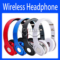 Wireless MP3/MP4 3.5mm Wireless Bluetooth Headphones New Version Over Ear Headsets On Ear Headphone