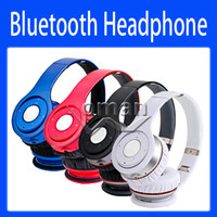Wireless MP3/MP4 3.5mm Over Ear Headsets Wireless Bluetooth Headphones High Performance On Ear Headphone New Version
