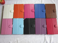 Wholesale Universal inch inch inch inch Tablet Leather Flip Case Cover Protective Leather Case Cover