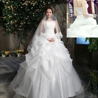 Wholesale In Stock Wedding Dresses Lowest Price High Quanlity Newest Design Bride Princess Wedding Dress
