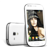 Wholesale 4 inch i9300 MTK6517 HD Capacitive Screen Dual Core GHz Android bluetooth GPS wifi dual camera cheap cell phone