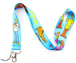 Wholesale New Cute Scooby Doo Phone Lanyard Key ID Neck Strap Gift Blue