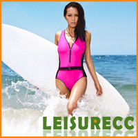 One-Piece Suits Pure Colour Women Sexy Swim Wears One-Piece Suits Swimsuit Bikini Women 4Size S M L XL Fashion Bathing Suits Temperament Sports Surfing Swimwear