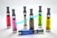 Wholesale Colorful eGO CE4 Atomizer Clearomizer Cartomizer with wick for E Cigarette F2