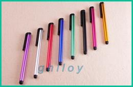 Touch Pen Capacitive Stylus Pen Aluminum alloy Tablet pc For Sumsang Onda Ainol Sanei 7 8 9 10 inch 2pcs lot