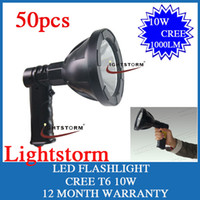 Wholesale 50PCS W CREE T6 LED Flashlight Outdoor Camping Hunting CREE LED Light