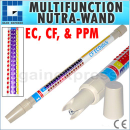 Wholesale ECS Handheld in1 Waterproof Professional EC CF PPM Dipstick Conductivity Stick Meter Nutrient Tester Accuracy ATC