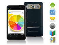 Wholesale 4 quot Android MTK6573 MHz G Smartphone with Wi Fi GPS M Camera Capacitive Touch Black