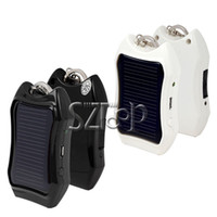 Wholesale Solar Charger Key Chain mah Portable Solar Mobile Charger for iPhone I9300 N7100 by DHL