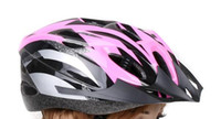 Wholesale Bicycle Cycle Bike gear headpiece mountain bike Pink crash helmet