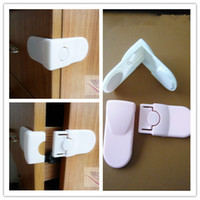 Wholesale Multifunctional Safety Lock Right Angle Corner Baby Cabinet Door Drawer Locks Protection