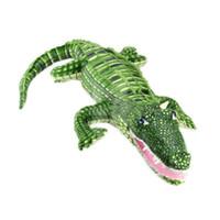 Reptiles Natural Plush 165cm Crocodile Plush Stuffed Animal Doll Toy Pillow Cushion Novel Gift