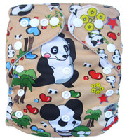 Wholesale Hot Sale Cartoon Baby Cloth Diapers Reusable With Inserts Jctrade Nappies