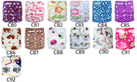 Cloth Diapers jctrade diapers - Minky Printed Baby Cloth Nappies Washable With Inserts Jctrade Diapers