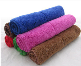 Wholesale 100pcs Multifunction wash towel Multicolor Rag Not shed fibers Rag Absorbent Rag