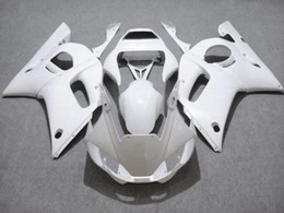 Fairing for YAMAHA R6 YZF-R6 98 99 00 01 02 YZF-R6 YZFR6 1998 1999 2000 2001 2002 All White 69M08