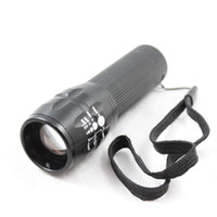 Wholesale 300 lumens mini cree led smooth reflector flashlight torch lantern