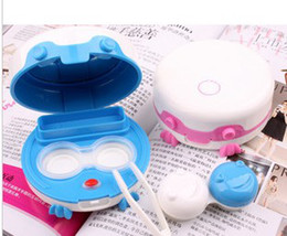 Wholesale hot Contact lens cleaner automatic cleaner electric contact lens case