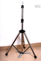Wholesale 1 X Cosmetology Mannequin Head Tripod Stand COSMETOLOGY TRIPOD Training Doll Head Mannequin Stand SILVER FAST SHIPPING STAINLESS STEEL