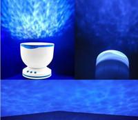 No baby mobile speaker - Baby Cot Mobile Toy Ocean Waves Projector Speaker Lamp Night Light Starlight