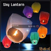 Wholesale VERY beautiful Wishing Lanterns KongMing Lantern Flying Light Chinese Wish Light Flame Sky hot sell