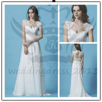 Beach Summer Simple 2013 New Style Beach Wedding Dresses Grecian style Luxe Chiffon crossover bodice Sweetheart Backless Appliques Vintage Wedding Dresses-31