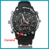 Wholesale GB Nand Flash High Quality DVR Spy Watch with Multi function Elegant Disign HD DV Spy Camera Watch