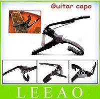 Wholesale Fedex Lowest Price Quick Change Trigger Key Capo Acoustic Electric Guitar Clamp Black