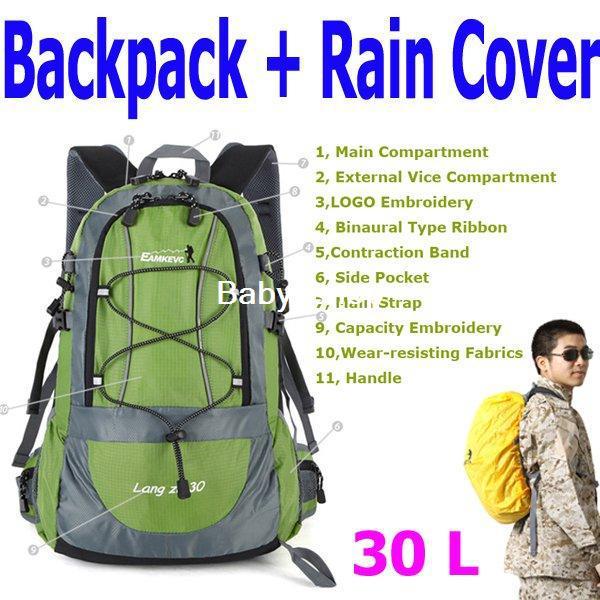 30L Hiking Backpack - Backpack Her