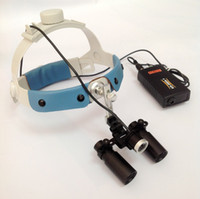surgical loupes - 5X Headband Binocular Dental Surgical Loupes amp High brightness full variable intensity control Medical Surgical Headlight