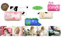 cartoon pillow - 5 styles high quality pet cartoon pillow case animal shaped the children pillow plush inches for children
