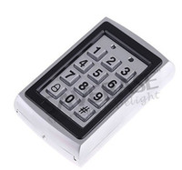 Wholesale Metal Keypad RFID Card Reader Controller KHz w Back Light